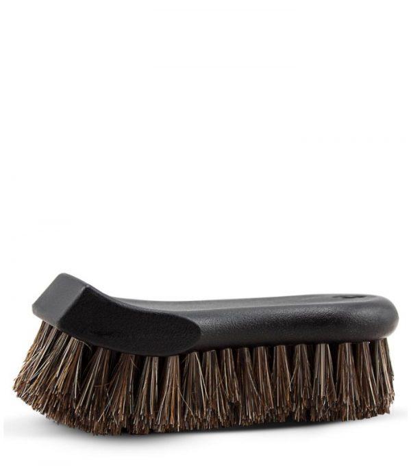 krtača za alkantaro usnje super ščetine naravne čiščenje krtačenje